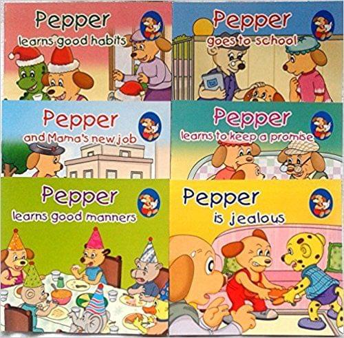 Pepper Series Set 5 ( Set of Six Books)