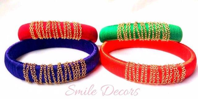 Smile Decors Daily Wear Thread Bangles