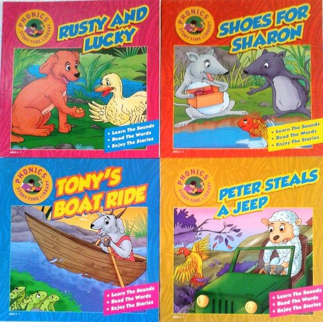 Phonics Storytime Library Set 3 (Set of 4 Books)