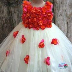 Little Bee Tutu Flower Frock