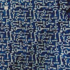 Aarika Assorted Indigo/Jaipuri Cotton Running Material