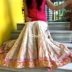 Trayee Cotton Printed Long Skirt