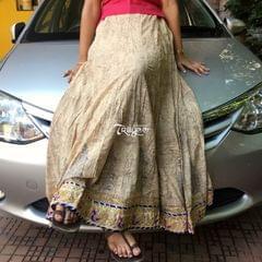 Trayee Cotton Printed Skirt