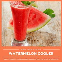 Kid-friendly Freshly Squeezed Watermelon Cooler (Min order 30 units)