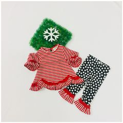 Little Bitty Elegant Red Baby Set for Age 3-6 months