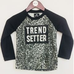 Little Bitty Black Trend Setter Top for Age 4 years