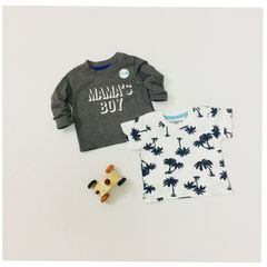 Little Bitty White Combo Tees for Age 3 months