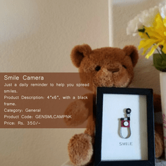 Kadaiveedhi Quilled Smile Camera