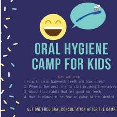 The Midtown Dental Oral Hygiene Camp with FREE consultation