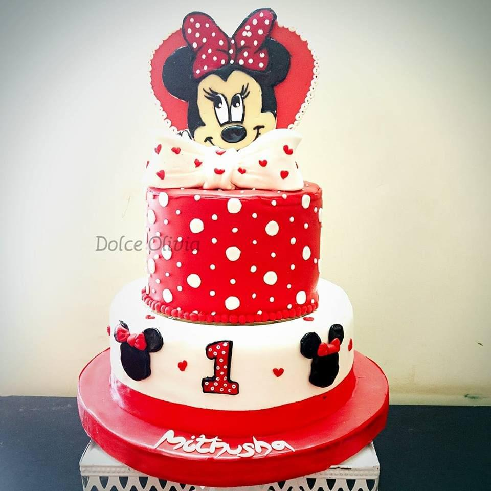 Dolce Olivia 2D Mickey Mouse Cake (4kgs)