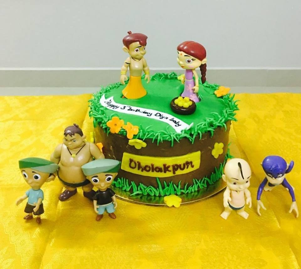 Dolce Olivia Dholakpur Cake (1kg)