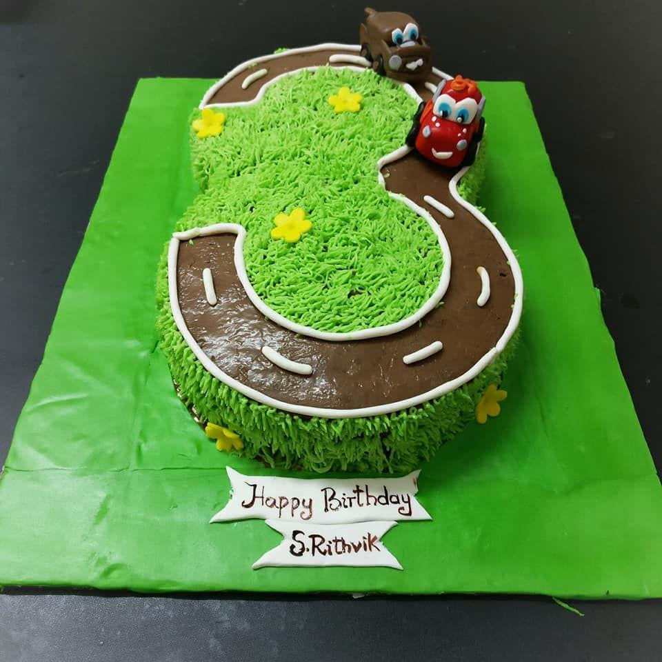Dolce Olivia Car Themed Cake (1kg)