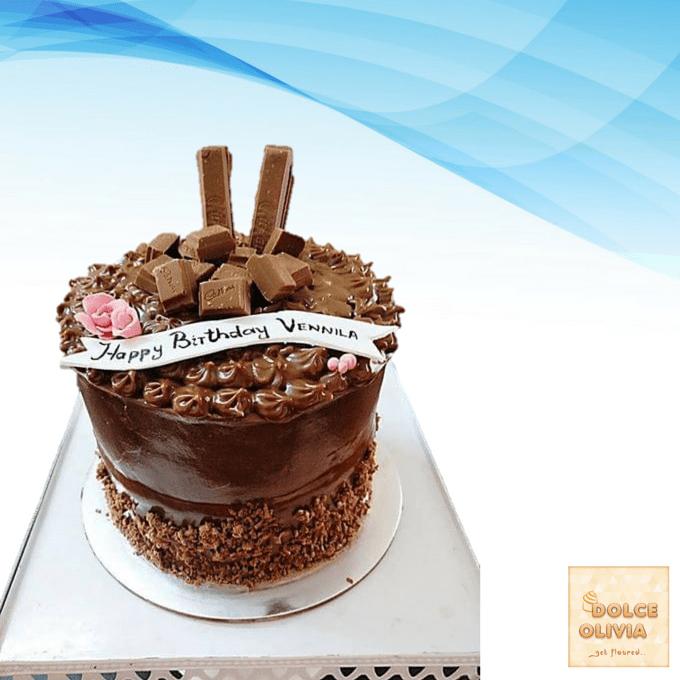 Dolce Olivia Chocolicious Cake (1kg)