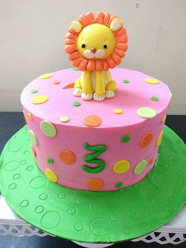 Dolce Olivia Lion Cake (1.5kgs)
