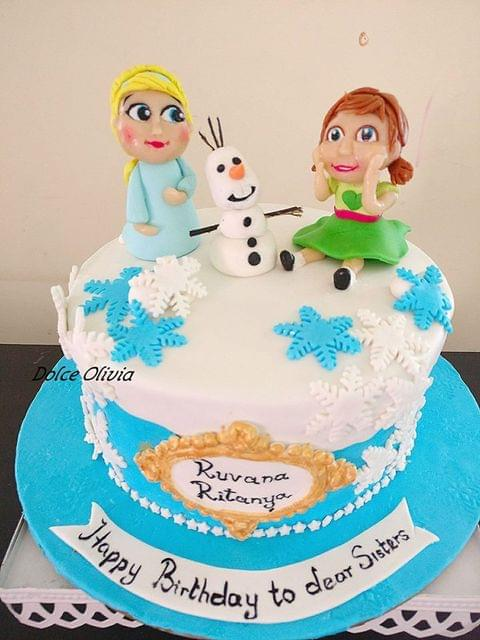 Dolce Olivia Frozen Cake (2kgs)
