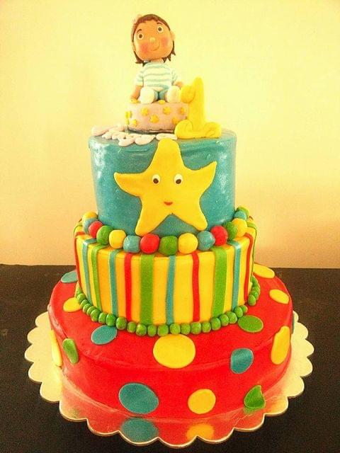 Dolce Olivia Baby tv Themed cake (5kgs)