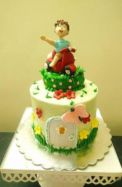 Dolce Olivia Cycle Theme cake (1kg)