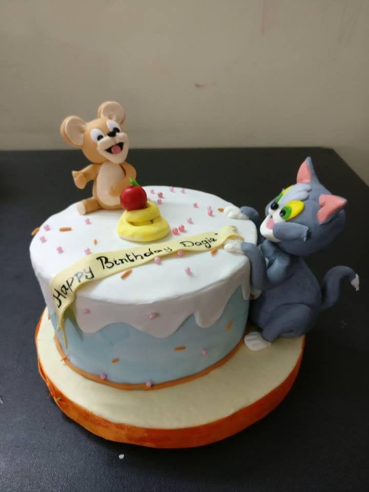 Dolce Olivia Tom and Jerry Cake (1kg)