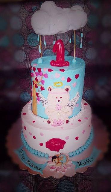 Dolce Olivia  Rain Showers Theme Cake (3kgs)