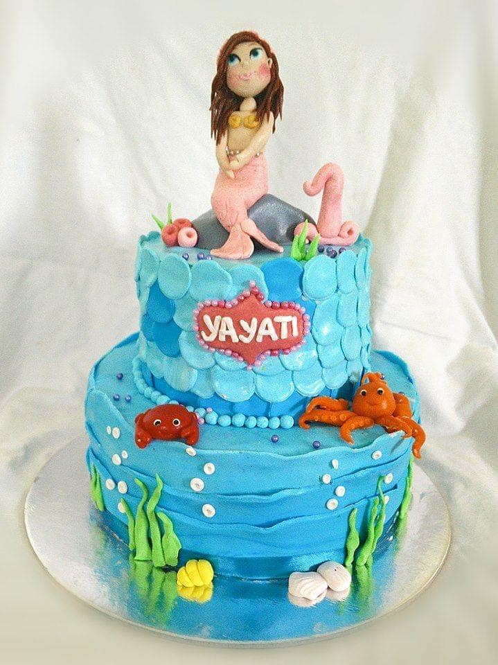 Dolce Olivia Mermaid Theme Cake (4kgs)