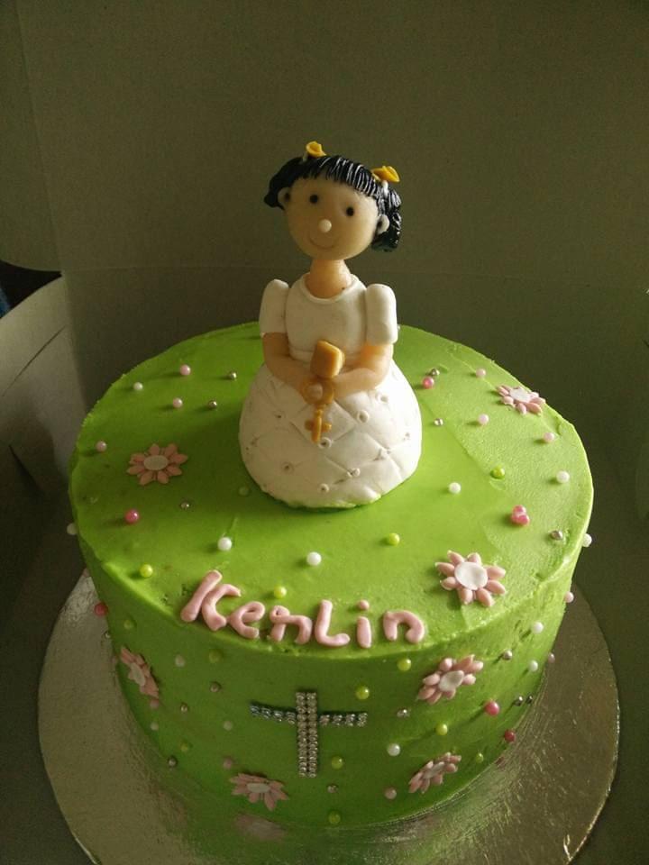 Dolce Olivia Holy Communion Cake (1kg)