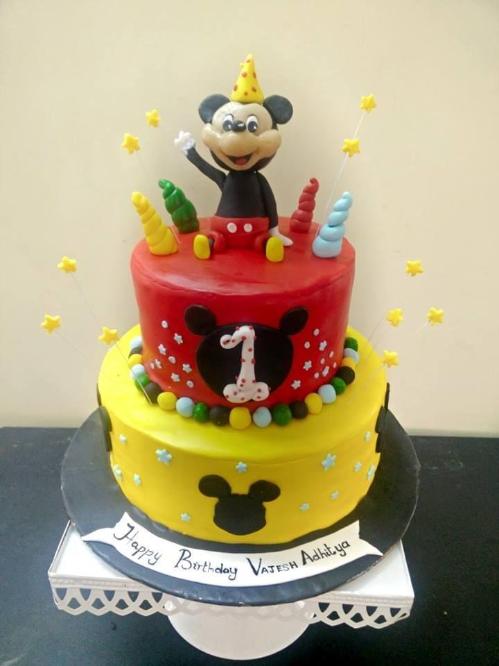 Dolce Olivia Mackey mouse Theme Cake (4kgs)