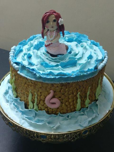 Dolce Olivia  Mermaid Theme Cake (2kgs)