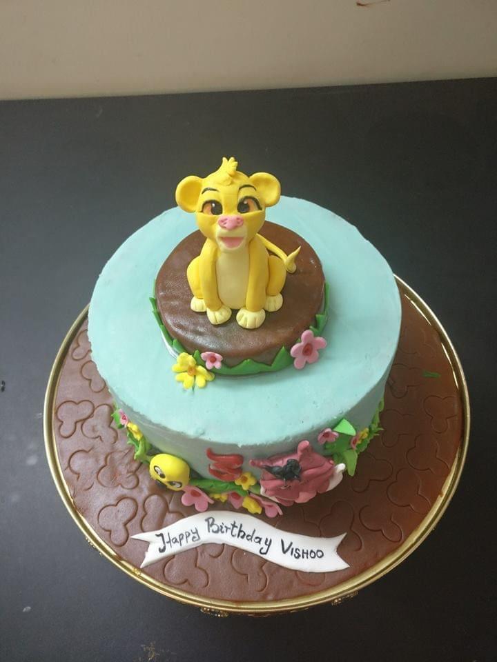 Dolce Olivia Madagascar Theme Cake (1.5kgs)