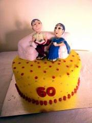 Dolce Olivia 60th Wedding Cake (1kg)