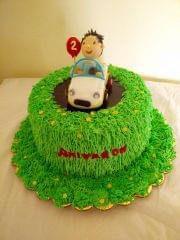 Dolce Olivia Car Theme Cake (1kg)