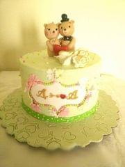 Dolce Olivia Cute Wedding  Cake (1kg)