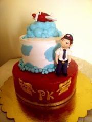 Dolce Olivia Aspiring Pilot Theme Cake (1kg)