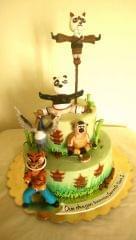 Dolce Olivia Kung Fu Panda Theme Cake (1kg)