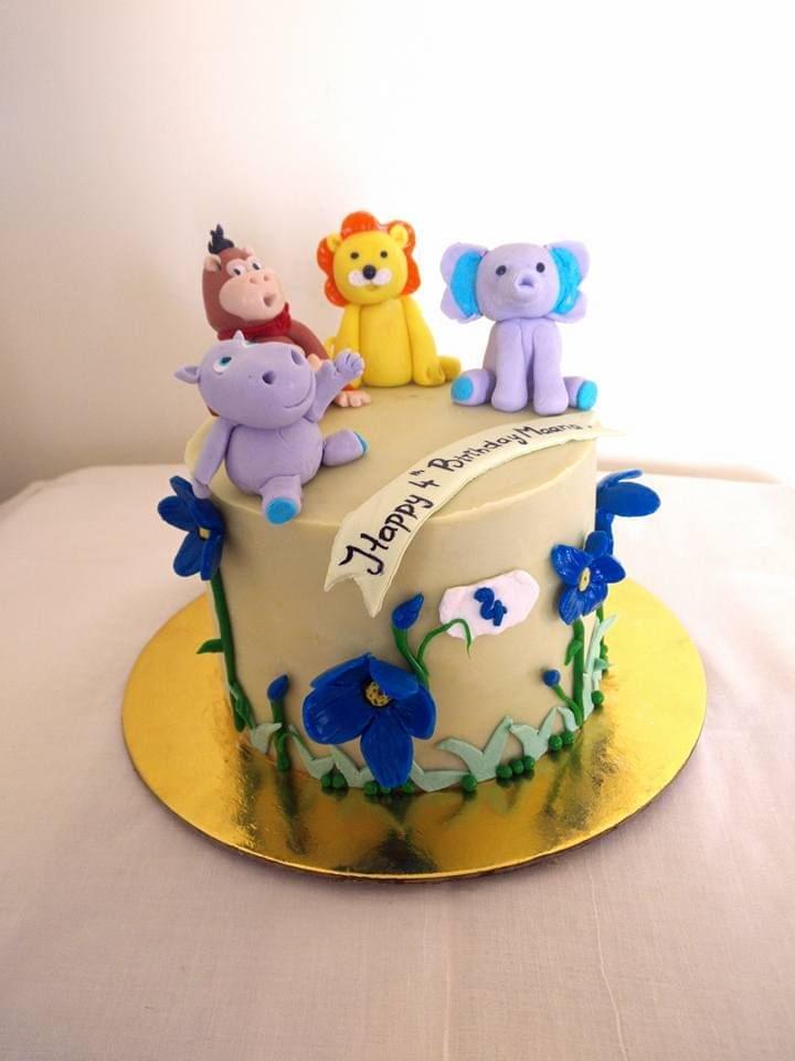 Dolce Olivia Animal Theme Cake (1kg)