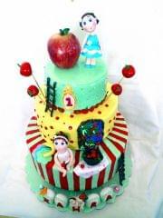 Dolce Olivia Apple Theme Cake (1kg)