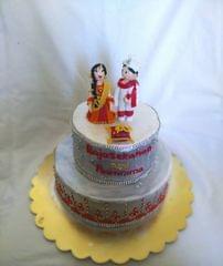 Dolce Olivia Desi Style Engagement Cake (1kg)
