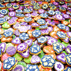 Dolce Olivia Decorated Cookies for Wedding Return decorated cookie (Min Order 150 numbers)
