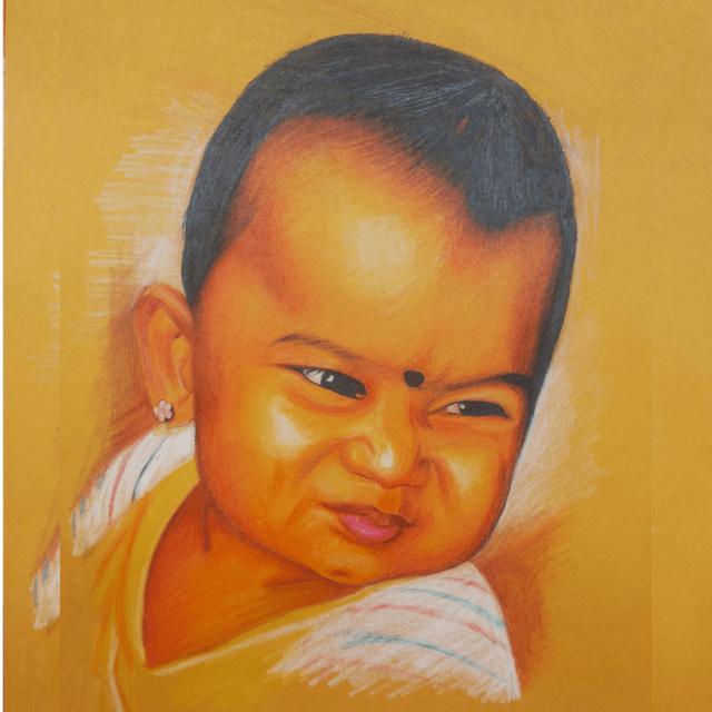 Kadaiveedhi Arts Most Beautiful Gift - Daughter