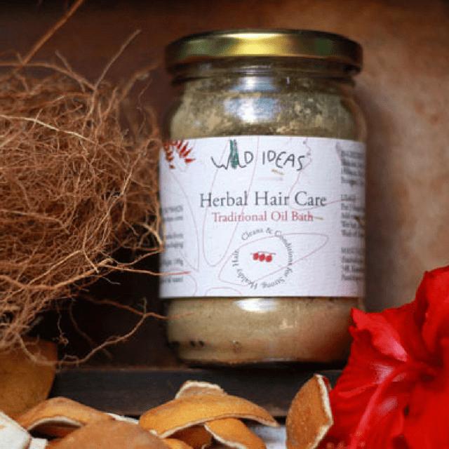 Wild Ideas Herbal Hair Care - Traditional Oil Bath 200g