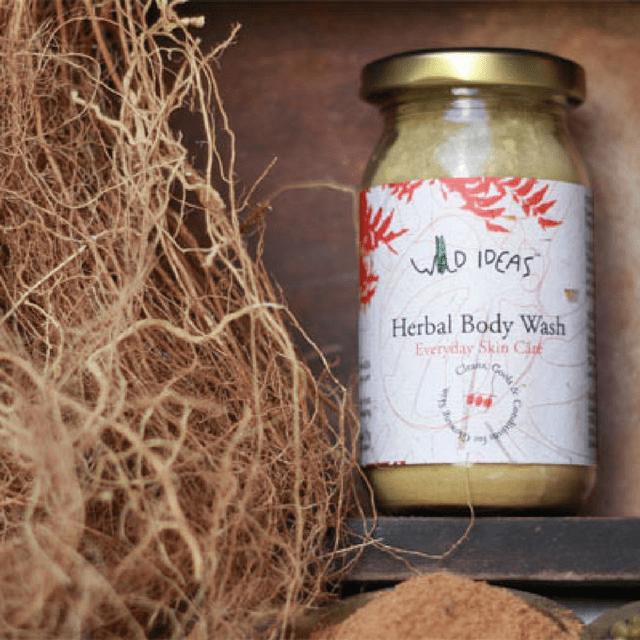 Wild Ideas Herbal Body Wash 200g