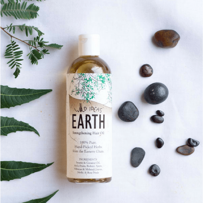 Wild Ideas Earth - Strengthening Hair Oil 200ml