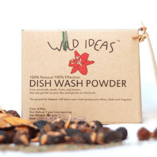 Wild Ideas Dish Wash Powder 400g