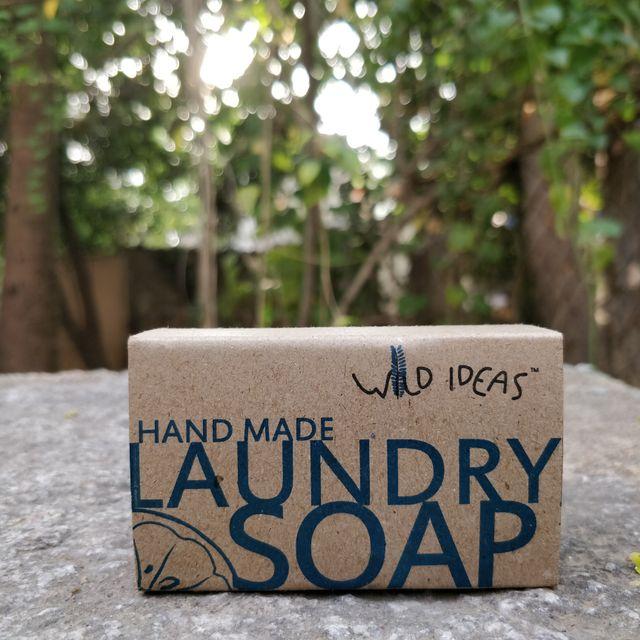 Wild Ideas Natural Hand-Made Laundry Bar Soap 200g