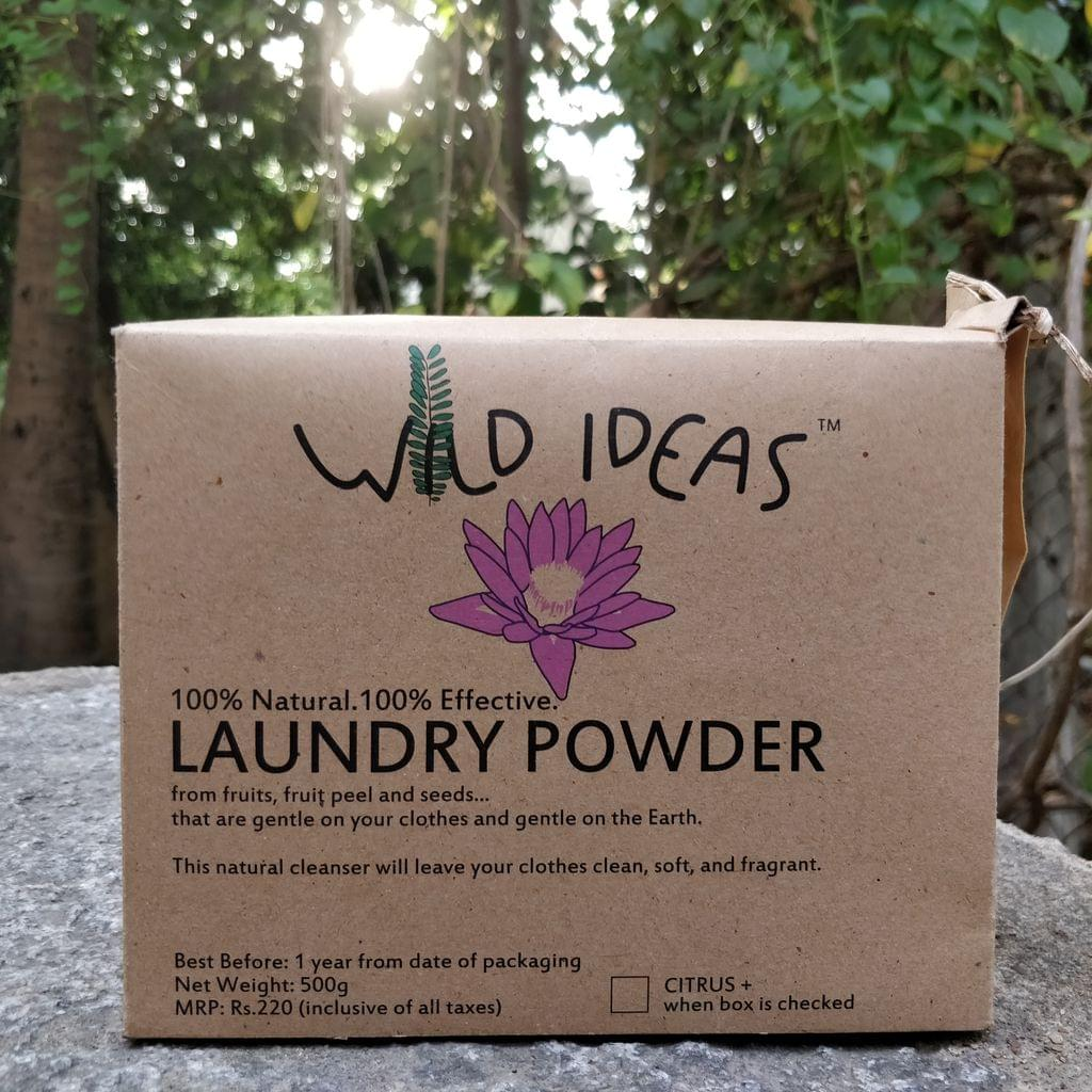 Wild Ideas Laundry Powder 500g without Citrus