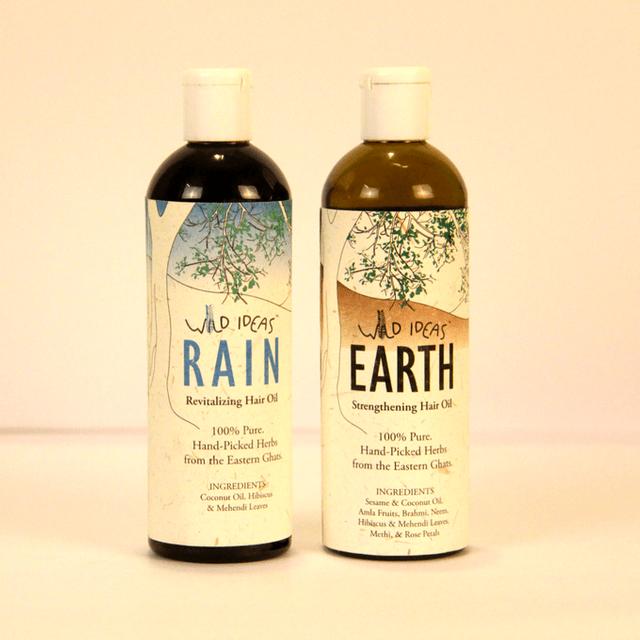 Wild Ideas Hair Oils - Earth and Rain