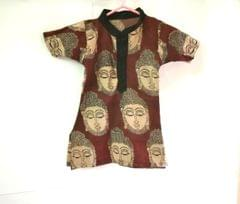 Aarika Customised Kalamkari Cotton Boy Kurta