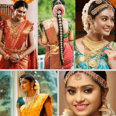 Kadaiveedhi Beauty Bridal Trial Make-up