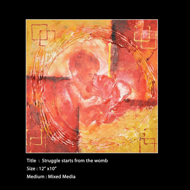 Kadaiveedhi Arts Struggle Starts from the Womb - with Frame