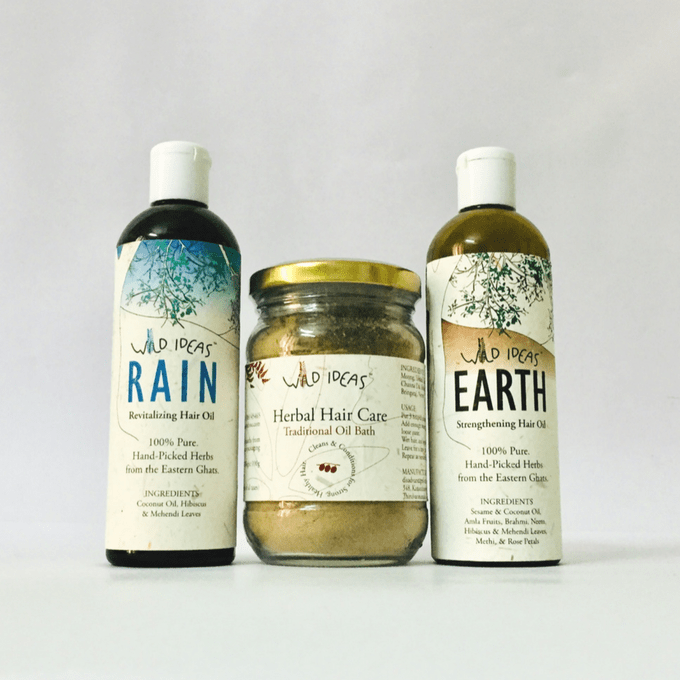 Wild Ideas Healthy Hair Kit
