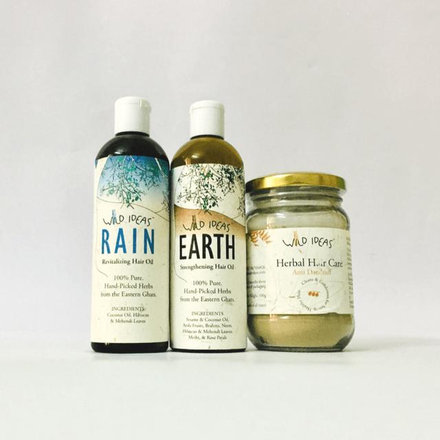 Wild Ideas Anti-Dandruff Hair Care Kit